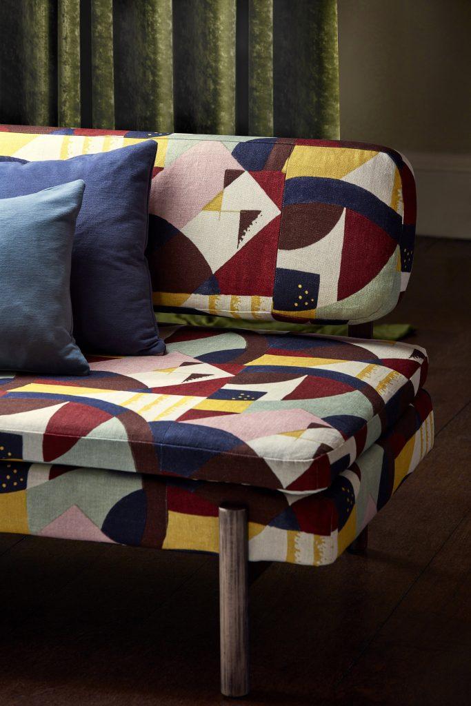 Textilia fabrics Zoffany Icons collection upholstery