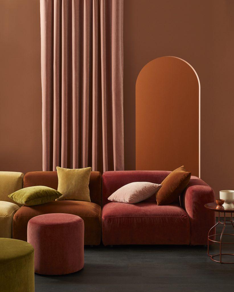 Warwick Fabrics Theodora collection Heavy commercial and drapery velvet